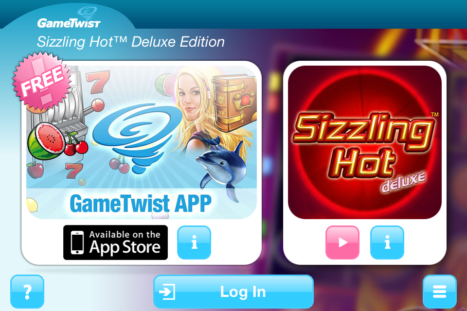 sizzling hot deluxe app download